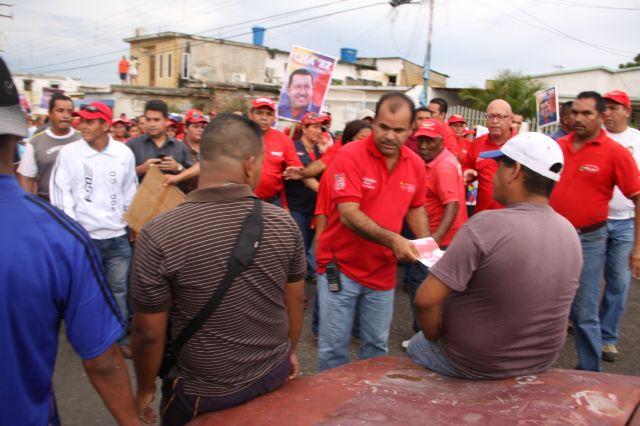 En la parroquia Universidad Ratificamos la Reeleccion del Presidente Chaves