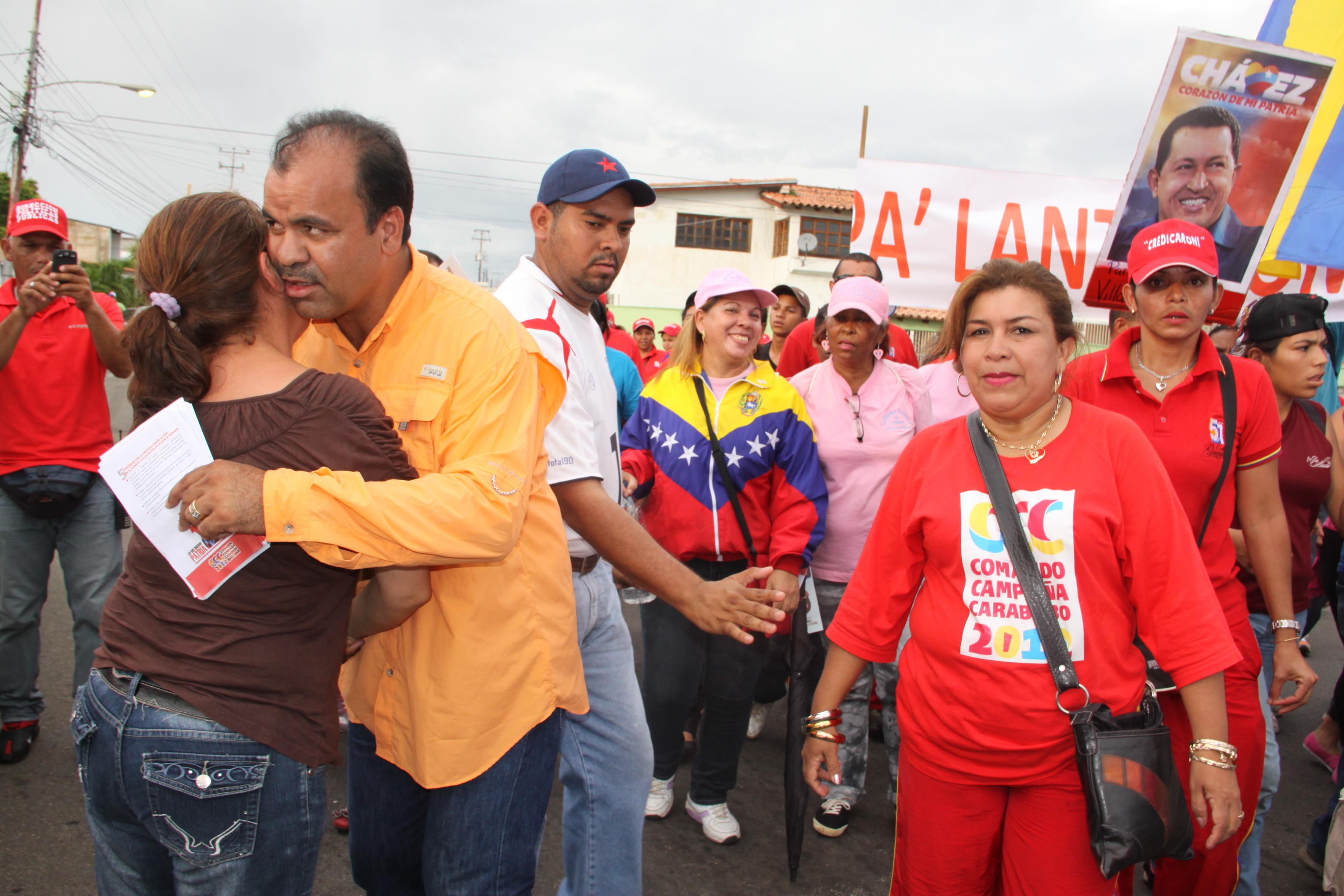En la parroquia universidad reafirma la reeleccion del presidente chavez