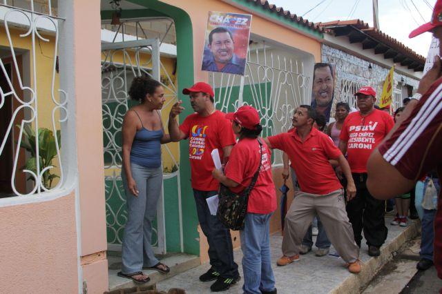 Los Guamos y el Caimito  reafirma su compromiso con el presidente Chavez
