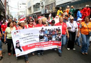 La Fundación del Niño en la caminata por San Félix