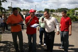 Alcalde José Ramón en Manoa